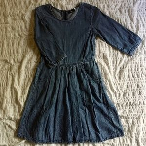 Urban Outfitters BDG Chambray Dress